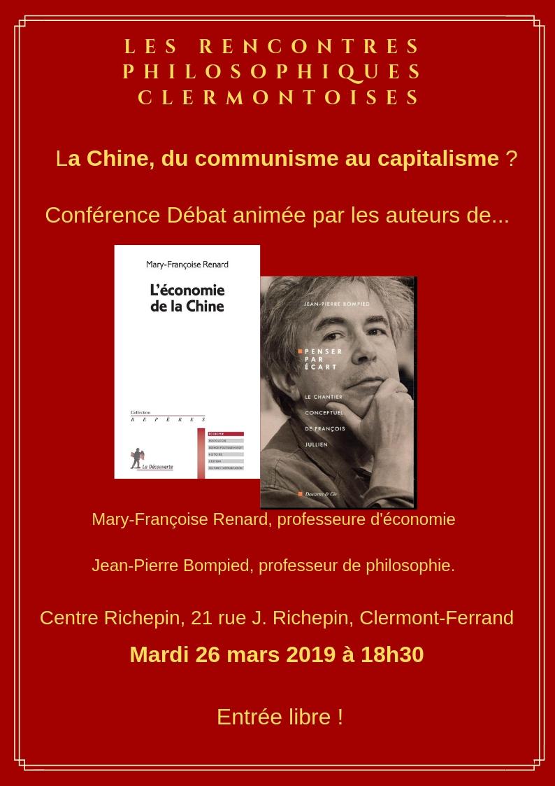 conférence débat Rencontres philosophiques
